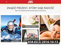 Miniaturka domeny jakiprezent.pl