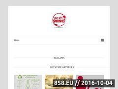 Miniaturka domeny jakpicwino.pl