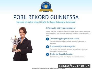 Zrzut strony Jak pobić rekordy Guinnessa