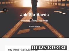 Miniaturka domeny www.jaksiebawic.pl