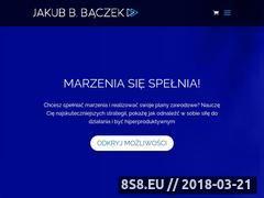 Miniaturka jakubbbaczek.pl (Trener motywacyjny)