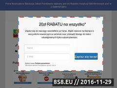 Miniaturka domeny www.jakubfrankiewicz.eu