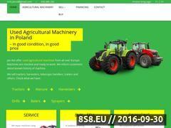 Miniaturka Maszyny rolnicze, ciągniki, kombajny i rozrzutnik (jan-rol.pl)