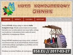 Miniaturka domeny janak.pl