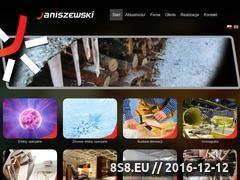 Miniaturka domeny janiszewski.net.pl