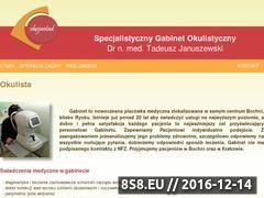 Miniaturka domeny januszewskiokulista.com.pl