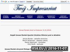 Miniaturka domeny januszmuniakquartet.twoj-impresariat.pl