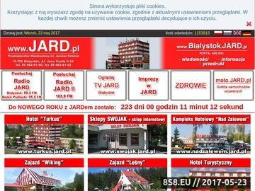 Zrzut strony P.W. Jard - hotele | campingi | rozrywka | medycyna | media