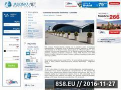 Miniaturka www.jasionka.net (Lotnisko Rzeszów-Jasionka)