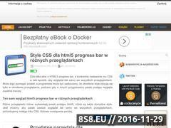 Miniaturka domeny javascript-html5-tutorial.pl
