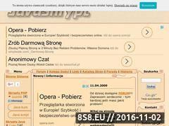 Miniaturka domeny www.javaskrypt.w.szu.pl