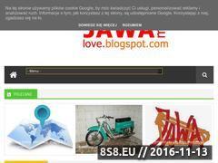 Miniaturka jawamylove.blogspot.com (Informacje o motorach Jawa)