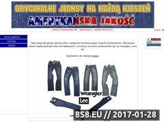 Miniaturka domeny www.jeans.bezposrednio.pl