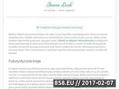 Miniaturka domeny www.jeanslook.pl