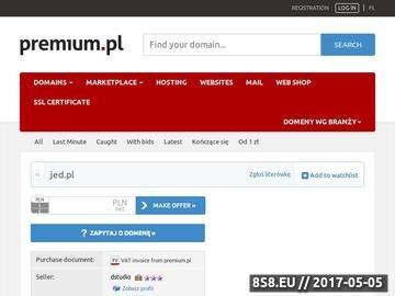 Zrzut strony Centrum darmowych aliasów jed.pl - Aliasy www.jed.pl, darmowe subdomeny, krótki adres dla twojej strony. Darmowy alias.