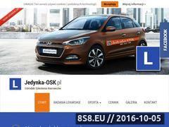 Miniaturka jedynka-osk.pl (Kurs prawa jazdy i jazdy doszkalające Warszawa)