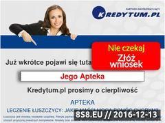 Miniaturka jegoapteka.pl (Suplementy diety, leki bez recepty i kosmetyki)