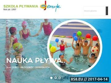 Zrzut strony Nauka Pływania Lublin