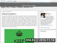 Miniaturka domeny jezyki-swiata.blogspot.com