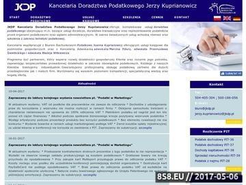 Zrzut strony Biuro rachunkowe Białystok