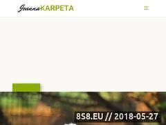 Miniaturka domeny www.joannakarpeta.pl