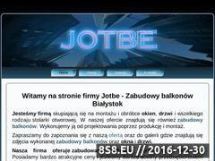Miniaturka domeny www.jotbe.net.pl