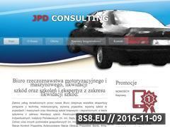Miniaturka domeny www.jpd-consulting.pl