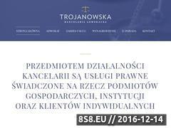Miniaturka domeny jtrojanowska.pl