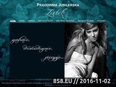 Miniaturka domeny www.jubiler-zietek.pl