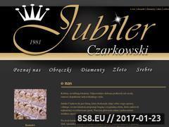 Miniaturka domeny jubilerczarkowski.pl