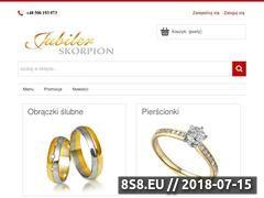 Miniaturka jubilerskorpion.pl (Biżuteria i zegarki)