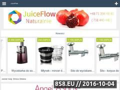 Miniaturka domeny www.juiceflow.pl