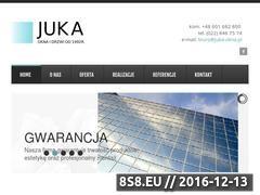 Miniaturka domeny www.juka-okna.pl