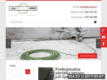 Zrzut strony Iniekcje ciśnieniowe Opole