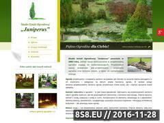 Miniaturka domeny www.juniperus-ogrody.pl