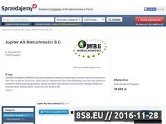 Miniaturka domeny jupiteras.sprzedajemy.pl