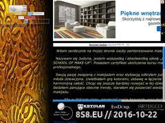 Miniaturka domeny justbeauty.prv.pl