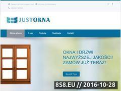 Miniaturka domeny www.justokna.pl