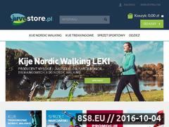 Miniaturka juvestore.pl (Sklep internetowy z kijkami do Nordic Walking - JuveStore.pl)