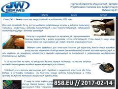 Miniaturka domeny jw-serwis.com