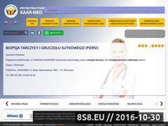 Miniaturka domeny www.kaarmed.pl
