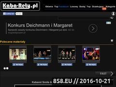 Miniaturka www.kaba-rety.pl (Kabarety)