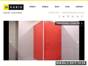 Zrzut strony Kabis - kabiny wc, zabudowy toalet