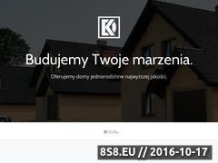Miniaturka Sprzedaż nowych domów jednorodzinnych (kachel-development.pl)