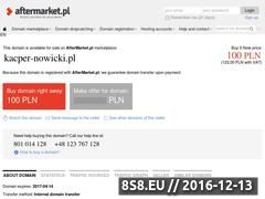 Miniaturka domeny www.kacper-nowicki.pl