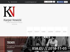 Miniaturka domeny kacper-nowicki24.pl