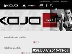 Miniaturka domeny www.kaja-sport.pl