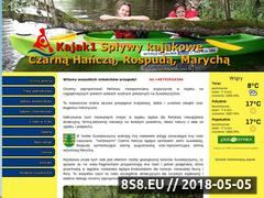 Miniaturka kajak1.pl (Spływy kajakowe Czarna Hańcza, Rospuda oraz Marycha)