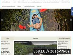 Miniaturka domeny www.kajaki-strumyk.pl