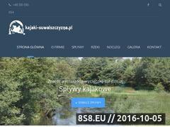 Miniaturka domeny kajaki-suwalszczyzna.pl